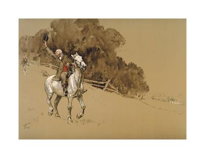Tally Ho!-Lionel Edwards-Premium Giclee Print