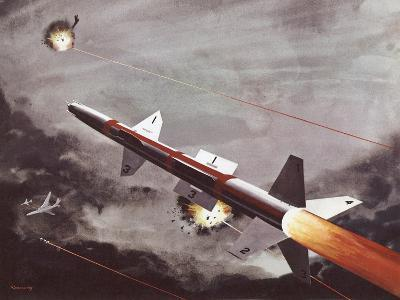 Talos Surface to Air Missile--Giclee Print