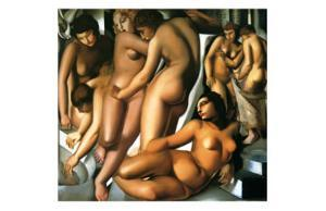 Bathing Women, c.1929 by Tamara de Lempicka