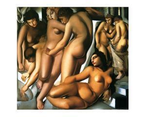 Bathing Women, c.1929 by Tamara de Lempicka