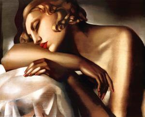 Dormeuse, c.1932 by Tamara de Lempicka