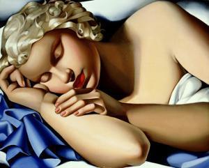 Dormeuse by Tamara de Lempicka