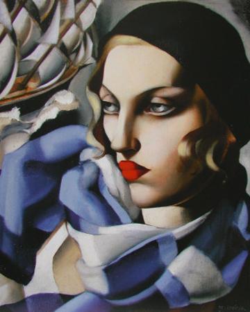 Echarpe Bleue by Tamara de Lempicka