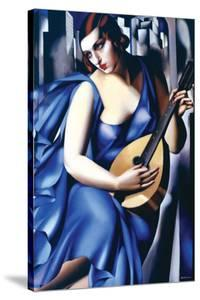 Femme a Guitare by Tamara de Lempicka