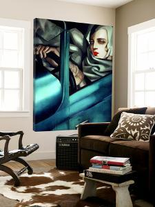 My Portrait by Tamara De Lempicka