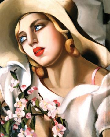 Portrait d'Une Jeune Fille by Tamara de Lempicka