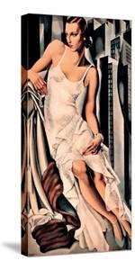 Portrait de Madame Allan Bott by Tamara de Lempicka