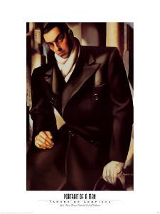 Portrait Of A Man by Tamara de Lempicka