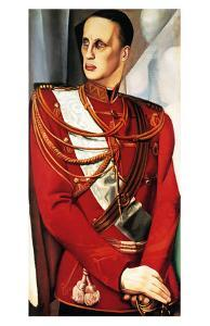 Portrait of Grand Duke Gabriel by Tamara de Lempicka