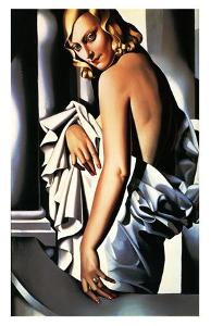 Portrait of Marjorie Ferry, c.1932 by Tamara de Lempicka