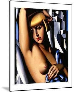 Portrait of Suzy Solidor, c.1933 by Tamara de Lempicka