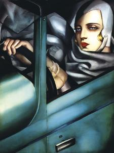 Self Portrait by Tamara de Lempicka
