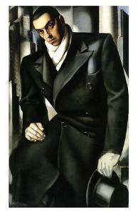 Tadeusz Lempicki, c.1928 by Tamara de Lempicka