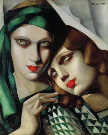 The Green Turban by Tamara de Lempicka