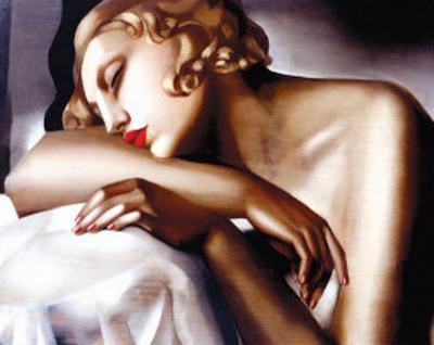 The Sleeper by Tamara de Lempicka