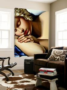 The Sleeping Girl I by Tamara De Lempicka