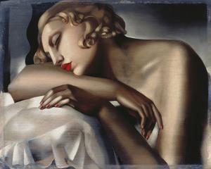 The Sleeping Girl by Tamara de Lempicka