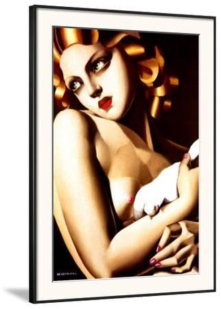 Woman with Dove by Tamara de Lempicka