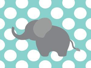 Elephant Polka Dots by Tamara Robertson