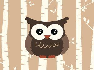 Owl Birch1 by Tamara Robertson