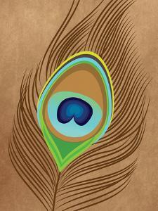 Peacock Feather 1 by Tamara Robertson
