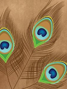 Peacock Feather 2 by Tamara Robertson