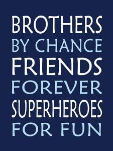 Brothers Superhero by Tamara Robinson