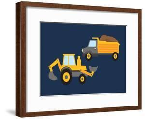 Trucks Framed Posters Art Prints Paintings Posters Wall Art Art Com