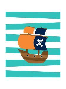 Pirate Boat 2 by Tamara Robinson