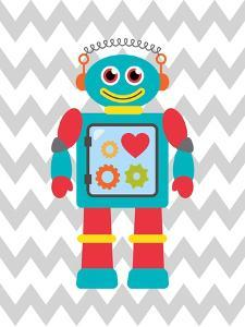 Robot Chevron 3 by Tamara Robinson