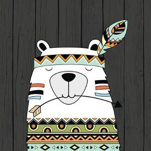 Tribal Bear by Tamara Robinson