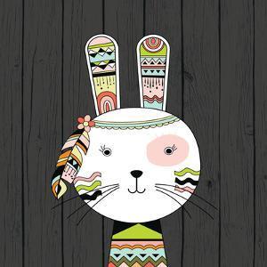Tribal Rabbit by Tamara Robinson