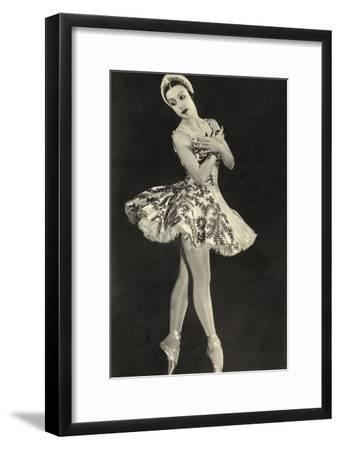 Tamara Toumanova, from 'Footnotes to the Ballet', Published 1938