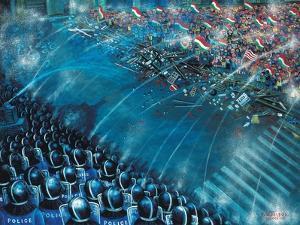Barricade, 2006 by Tamas Galambos