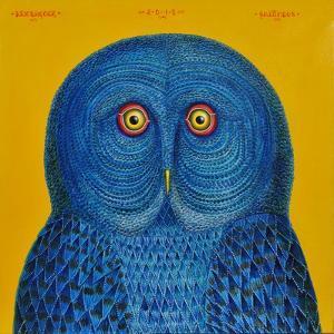 Blue Owl, 2015 by Tamas Galambos
