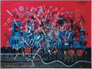 Catastrophe, 1974 by Tamas Galambos