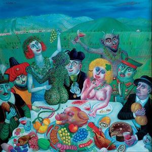 Dionysos in Eger, 2000 by Tamas Galambos
