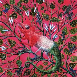 Great Chameleon, 1996 by Tamas Galambos