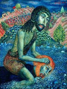 John the Baptist, 1998 by Tamas Galambos