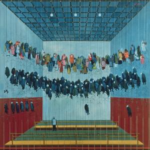 Miner's Dressing Room, 1982 by Tamas Galambos