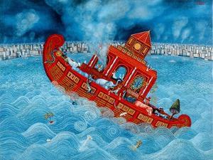 Noah's Barge, 1987 by Tamas Galambos