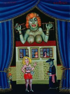 Puppet Show, 1997 by Tamas Galambos