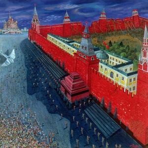 Red Square, 1988 by Tamas Galambos