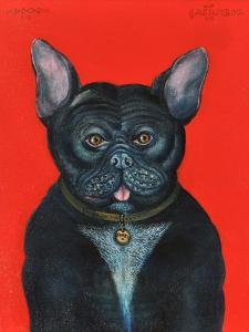 Svarc the Dog I, 2002 by Tamas Galambos