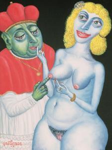 Temptation, 1999 by Tamas Galambos