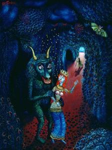 The Minotaur, 1997 by Tamas Galambos