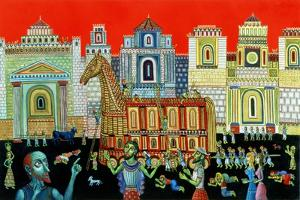 The Trojan Horse, 1994 by Tamas Galambos
