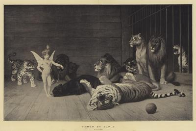 Tamed by Cupid-Jean Leon Gerome-Giclee Print