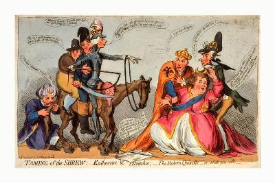 Taming of the Shrew--Giclee Print