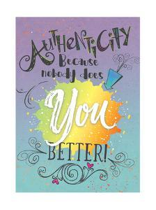 Authenticity by Tammy Apple